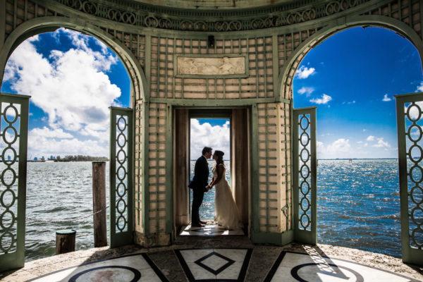 A recent wedding we did at Vizcaya