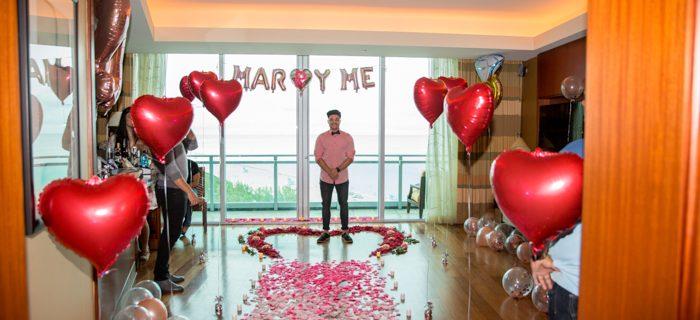 Proposal wedding photographer